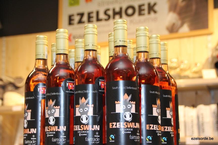 Orde van de Ezel lanceert nieuwe fairtrade roséezelswijn