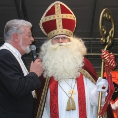 Aankomst Sinterklaas